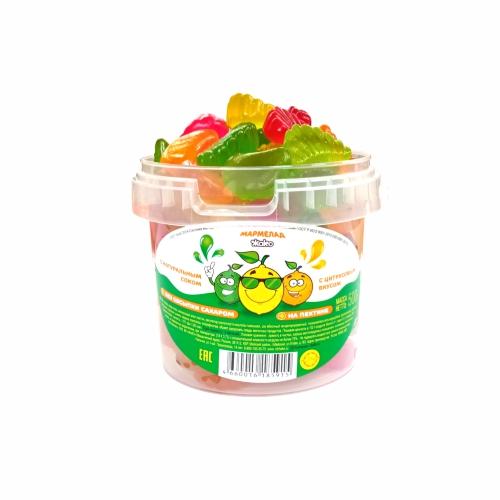 Мармелад «Жако» с цитрусовым вкусом (без обсыпки сахаром) 0,5 кг